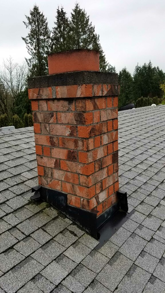 Chimney On Roof